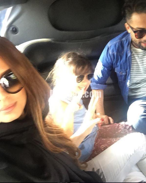 بنیامین بهادری در کنار شایلی محمودی و دخترش بارانا +عکس ...