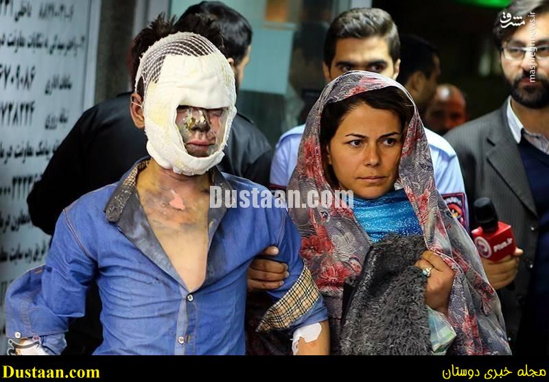 www.dustaan.com عکس های هولناک از حوادث چهارشنبه سوری / فیلم +18