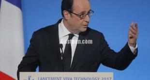 هک شدن صفحه فرانسوا اولاند، رئیس جمهور فرانسه در فیسبوک