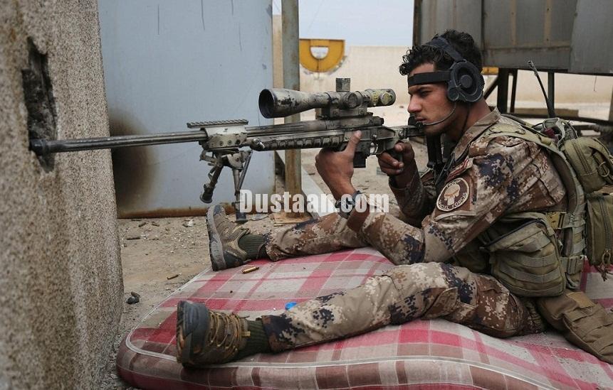 تصاویری از نبرد ارتش عراق با داعش