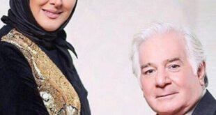 الهام حمیدی در آغوش پدرش +عکس