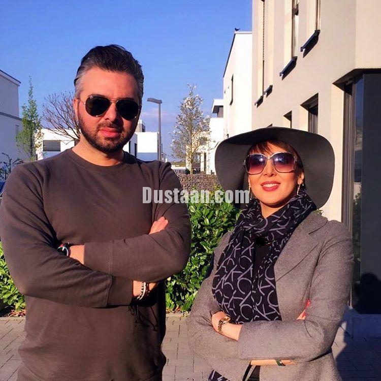 www.dustaan.com تیپ متفاوت لیلا بلوکات در آلمان +عکس