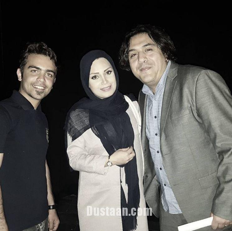 www.dustaan.com مانی رهنما و همسرش صبا راد