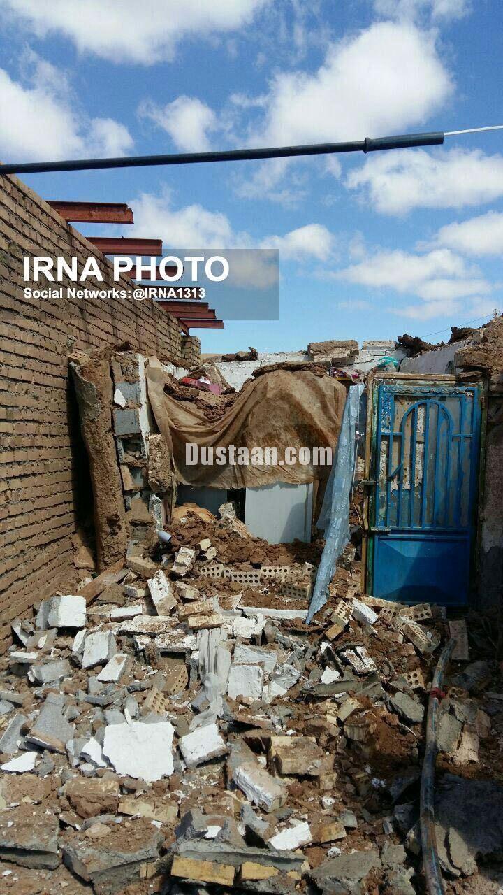 www.dustaan.com تصویری از خسارت زلزله در خراسان رضوی