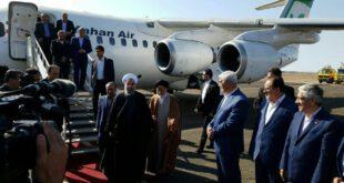 افتتاح فرودگاه سمنان با حضور رئیس جمهور