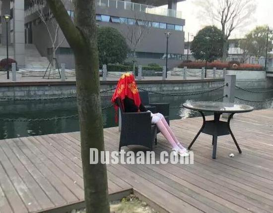 www.dustaan.com ازدواج عجیب مهندس چینی با یک رُبات! +تصاویر