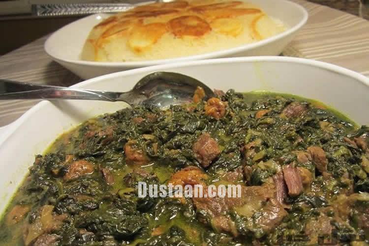 www.dustaan.com آموزش تهیه 5 غذای خوشمزه و مقوی با اسفناج + خواص اسفناج