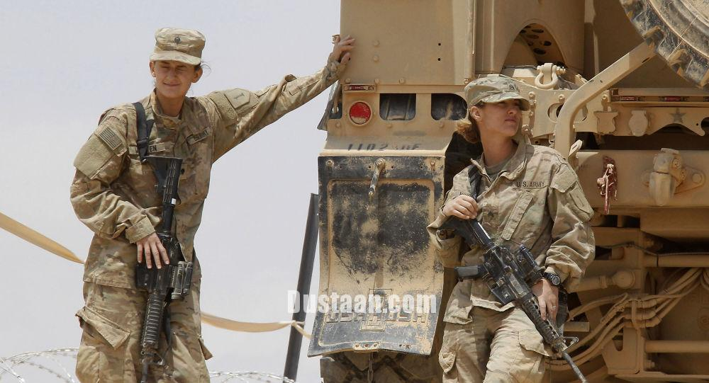 www.dustaan.com اخراج دو نظامی پس از انتشار عکس های برهنه زنان ارتش امریکا
