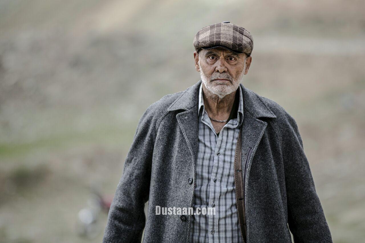 گریم متفاوت جمشید هاشمپور در فیلم شعیبی