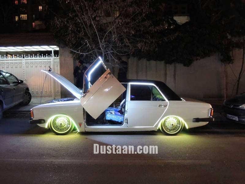 www.dustaan.com رونمایی از لوکس ترین خودروی پیکان! +عکس