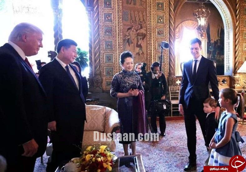 www.dustaan.com آوازخوانی دختر ایوانکا برای رئیس جمهور چین! +عکس