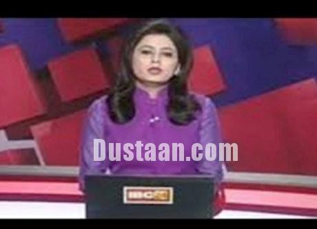 www.dustaan.com خانم مجری خبر فوت همسرش را با ارامش خواند! +عکس