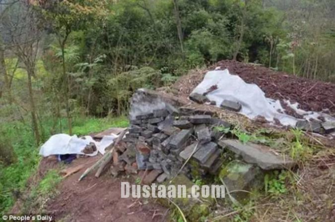 www.dustaan.com مردی که با کندن قبر خود را زنده به گور کرد! +تصاویر