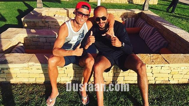 www.dustaan.com واکنش کریستیانو رونالدو به اتهام همجنس بازی +عکس
