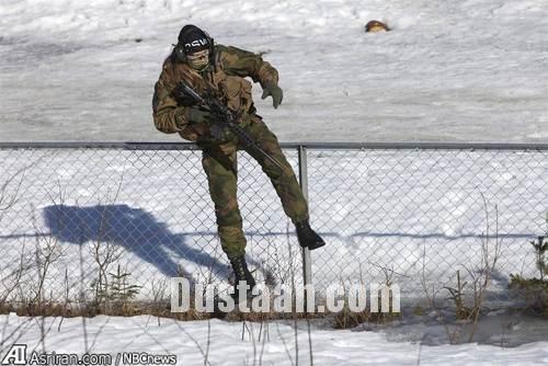 www.dustaan.com پوشش متفاوت زنان در ارتش نروژ +تصاویر