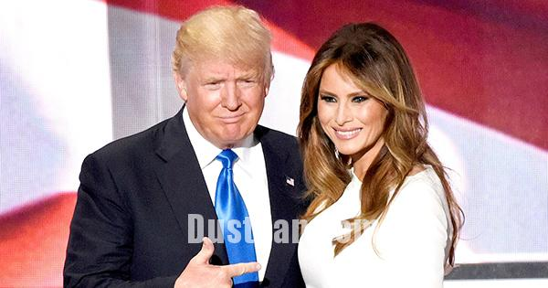 www.dustaan.com جنجال پیام تبریک ترامپ برای همسرش، ملانیا