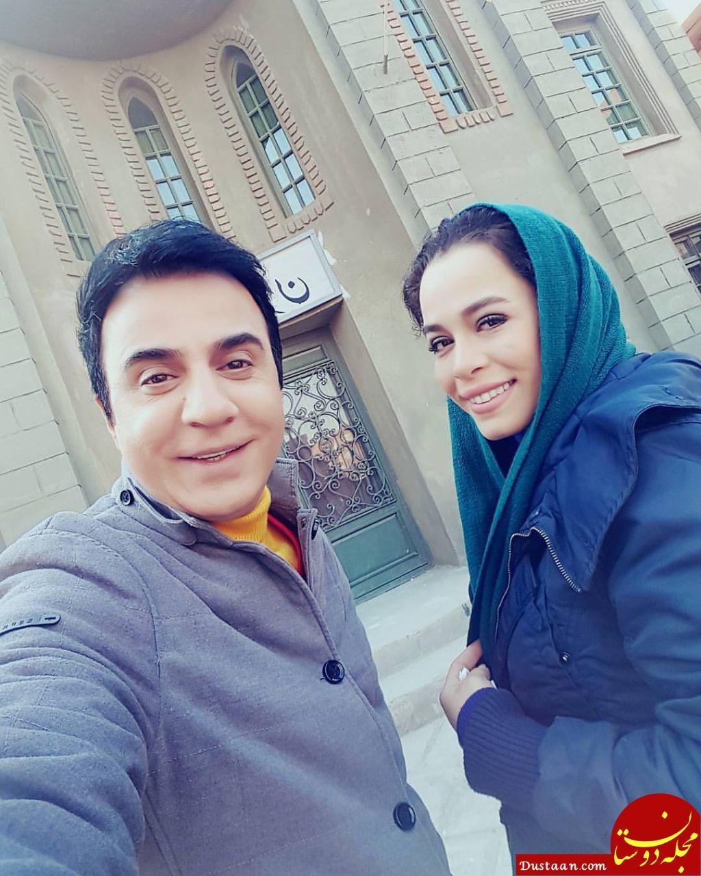 ازدواج عموپورنگ با ملیکا شریفی نیا