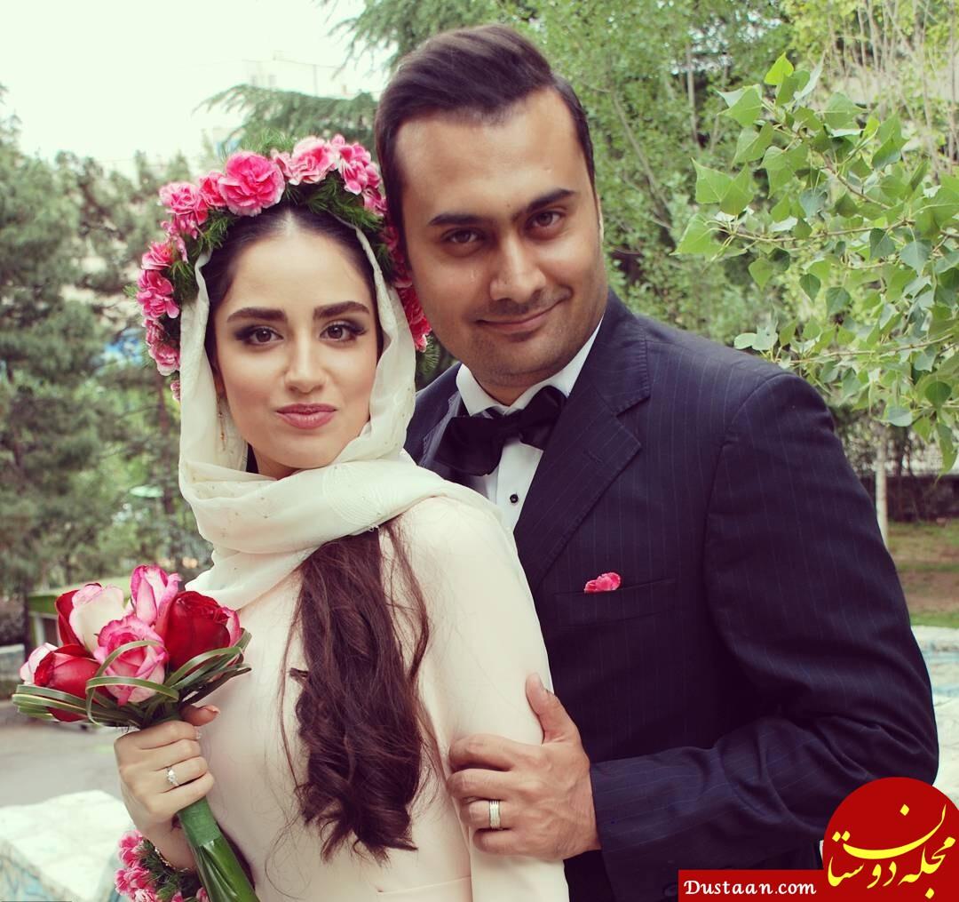 مراسم ازدواج هانیه غلامی + عکس ها و بیوگرافی