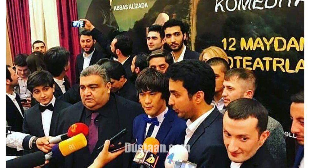 www.dustaan.com اولین فیلم «بروسلی افغانی» در باکو اکران شد! +تصاویر