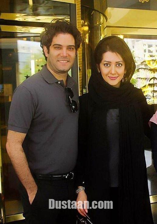 www.dustaan.com امیرعلی نبویان و همسرش بهار نوروزپور +عکس
