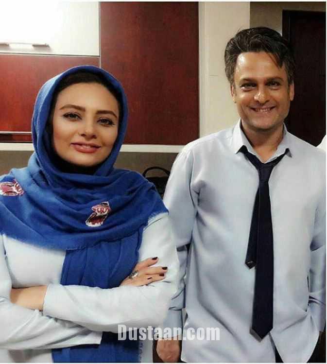 www.dustaan.com عکس: حسین یاری و یکتا ناصر در پشت صحنه عاشقانه