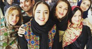 نرگس محمدی و فریبا نادری در مسابقات گلف تهران +عکس