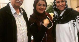 محمود پاک نیت و همسرش مهوش صبرکن +عکس