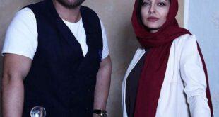 ساره بیات و محمدرضا گلزار در پشت صحنه «عاشقانه»