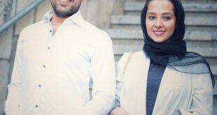 تصویری زیبا از اشکان خطیبی و همسرش آناهیتا