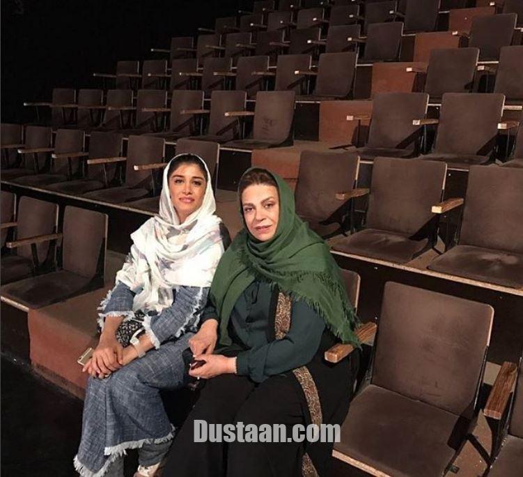 www.dustaan.com گوهر خیراندیش و دخترش آزاده اسماعیل خانی