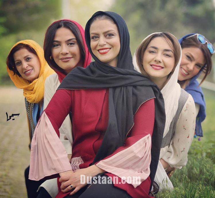 www.dustaan.com مارال فرجاد و هانیه توسلی در اسکواش هنرمندان +عکس