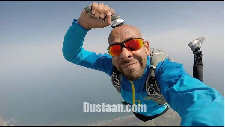 www.dustaan.com اصلاح سر بدلکار ایرانی در حین سقوط از هواپیما! +عکس