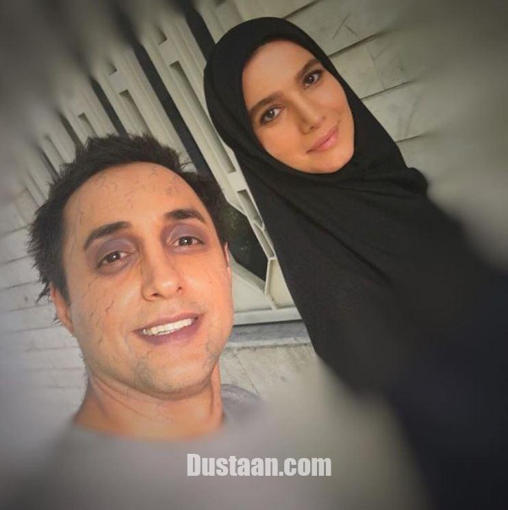 www.dustaan.com چهره عجیب امیرحسین رستمی در کنار متین ستوده! +عکس