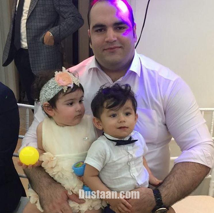 www.dustaan.com شباهت جالب بهداد سلیمی و دخترش سلین به هم!