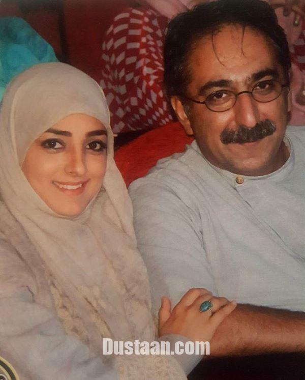 www.dustaan.com شهرام شکیبا و همسرش ستاره سادات قطبی +عکس