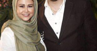 امیریل ارجمند و همسرش یاسمینا باهر +عکس