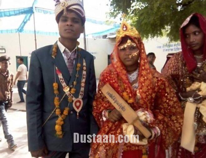 www.dustaan.com سلاح عروس های هندی برای مقابله با داماد های خشن! +تصاویر
