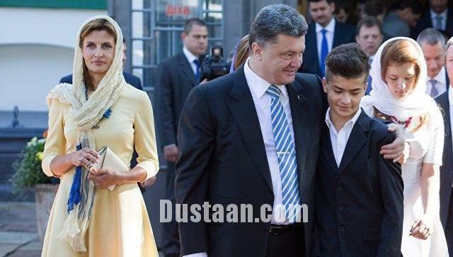 پسر پورشنکو با یک لباس روسی جنجال به پا کرد