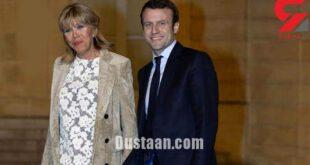 همسر رییس جمهور جوان فرانسه