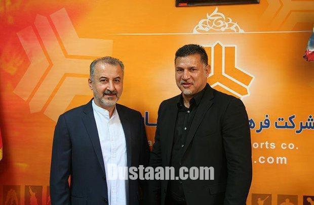 www.dustaan.com علی دایی رسماً سرمربی تیم فوتبال سایپا شد