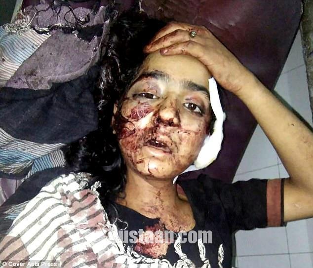 www.dustaan.com عاقبت خونین عشق پنهانی دختر 18 ساله هندی به پسرجوان +تصاویر