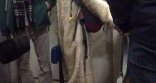 مسافران مترو با پوشش های عجیب و خاص! +تصاویر