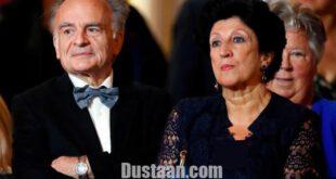 پدر و مادر رئیس جمهور منتخب فرانسه +عکس