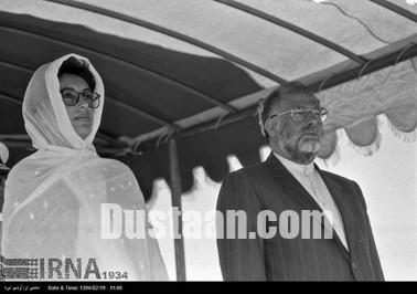 تصاویری از سفر 27 سال پیش بی نظیر بوتو به تهران