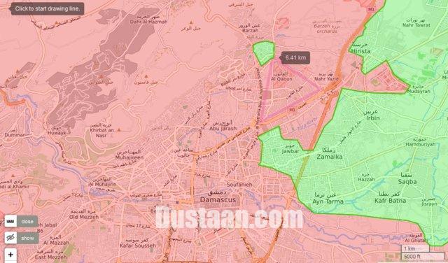 www.dustaan.com پاکسازی شرق دمشق پس از 5 سال