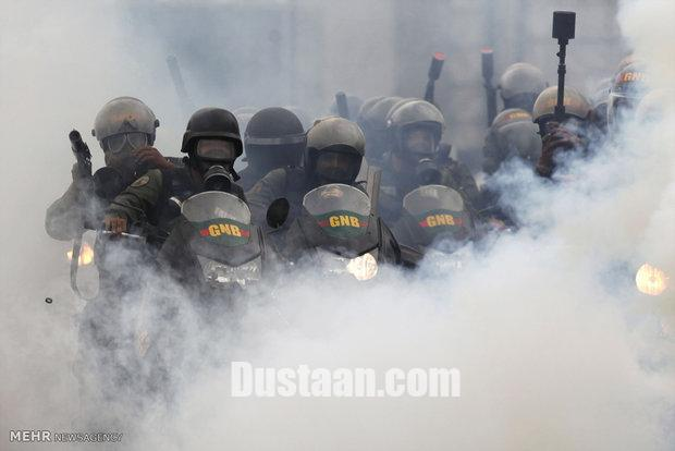 اعتراضات گسترده مردم ونزوئلا بر علیه دولت +تصاویر
