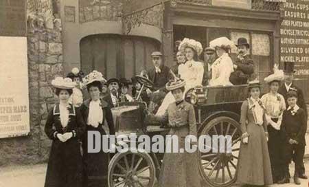 قدیمی ترین ماشین عروس جهان را ببینید! +عکس