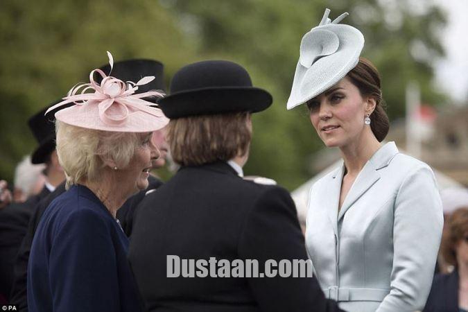 www.dustaan.com تصاویر: عصبانیت شدید عروس ملکه انگلیس در پارتی