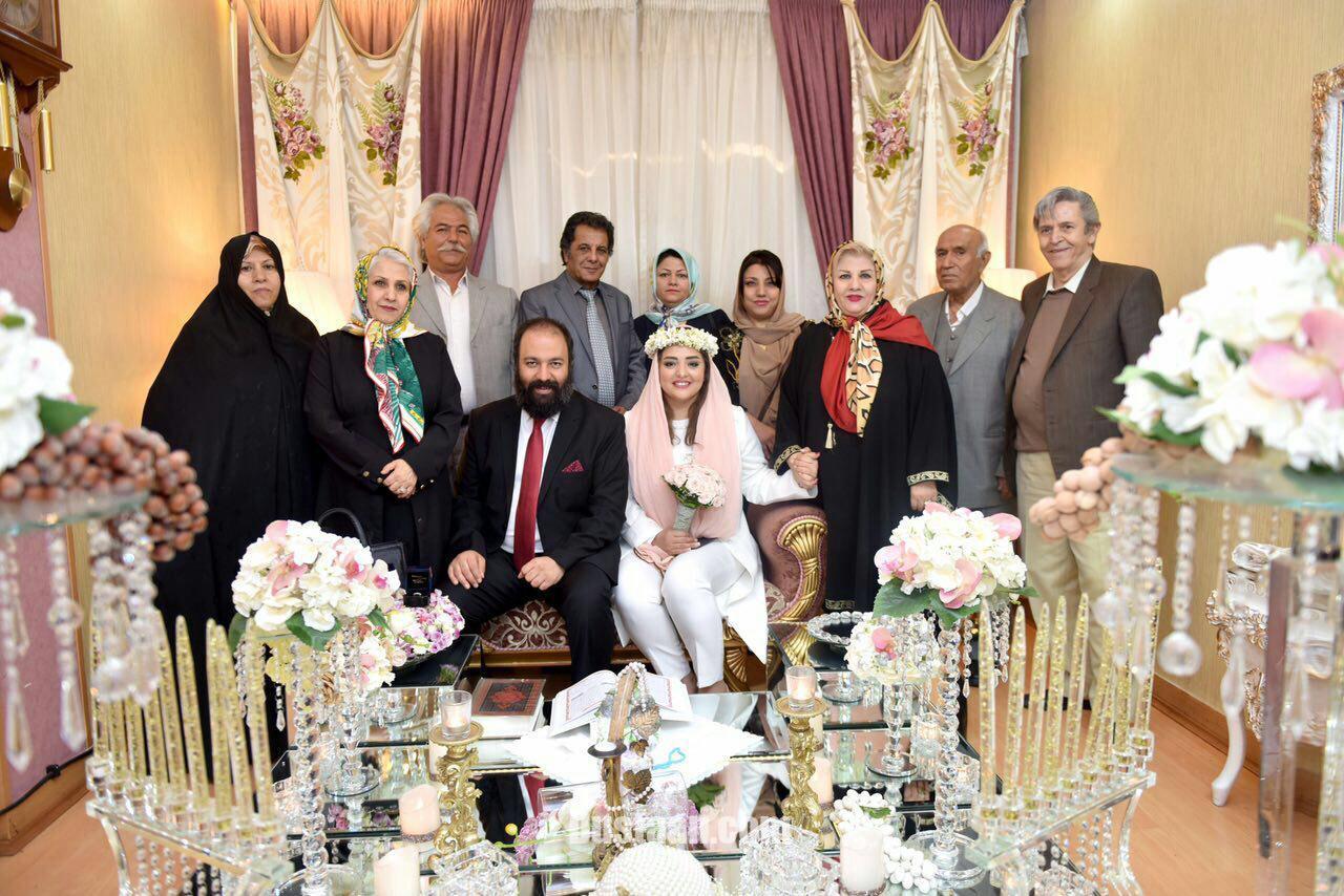 www.dustaan.com بیوگرافی نرگس محمدی و همسرش علی اوجی! +عکس های عروسی