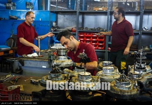 www.dustaan.com تصاویری از کارخانه ساخت قطعات لوکوموتیو